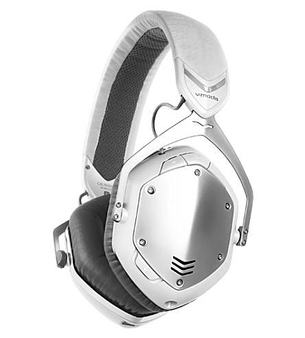 V-MODA Crossfade Wireless Over-Ear Headphones in White and Silver
