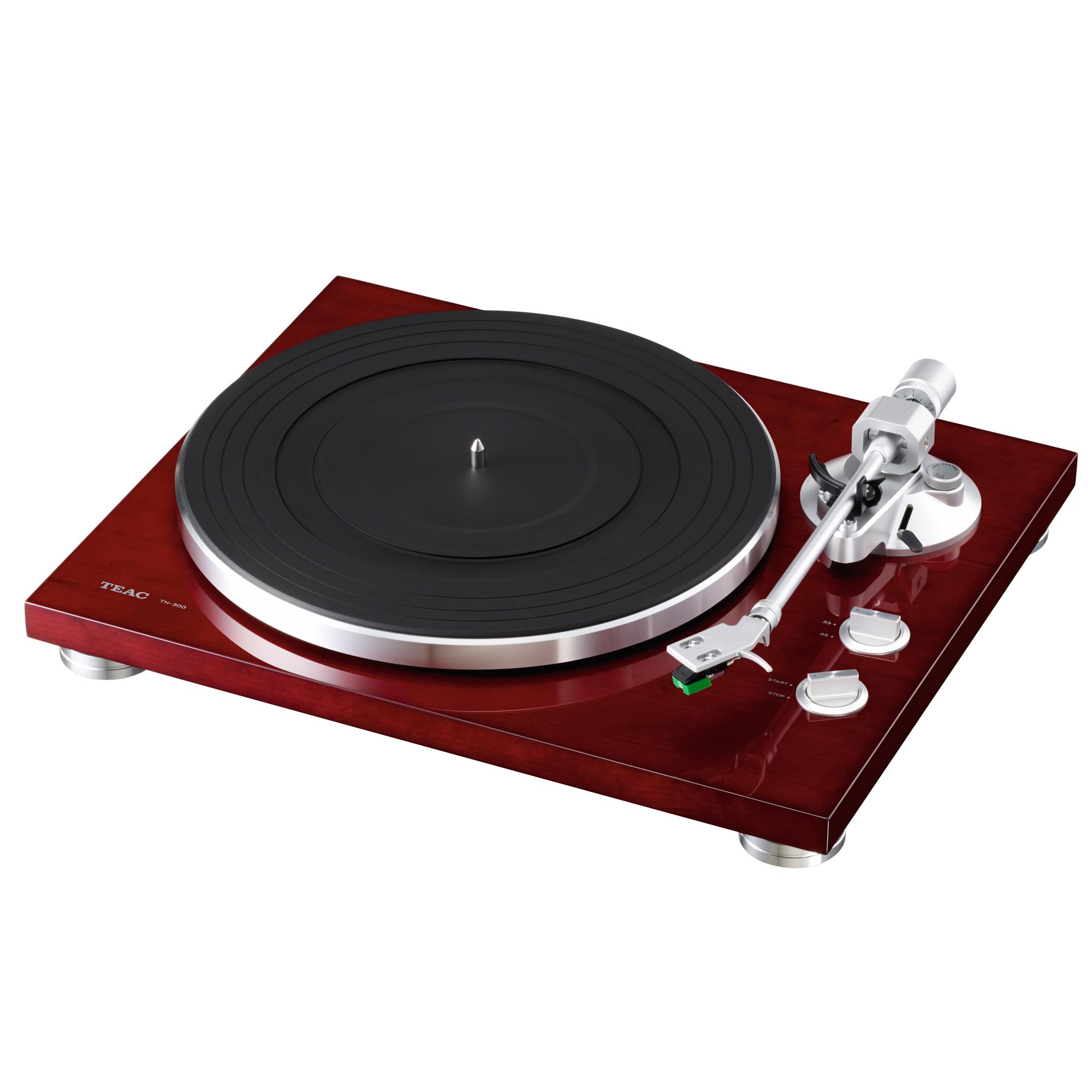 teac tn 300 analogue usb turntable in cherry tekzone