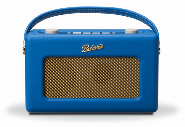 Roberts Revival RD60 DAB FM Radio Cobalt Blue front view