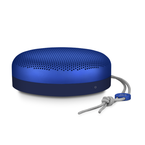 Bang & Olufsen Beoplay A1 Portable Bluetooth Speaker in Late Night Blue