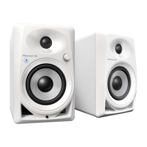 Pioneer DM-40BT Bluetooth Monitor Speakers in White