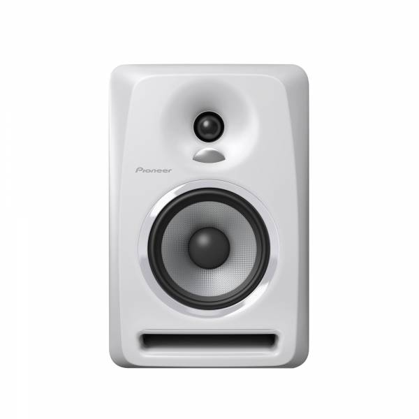 Pioneer S-DJ50X-W Single Speaker in White front facing
