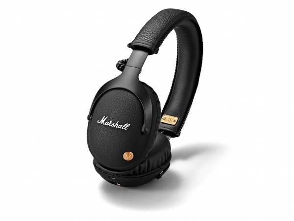 Marshall Monitor Wireless Over-Ear Headphones in Black