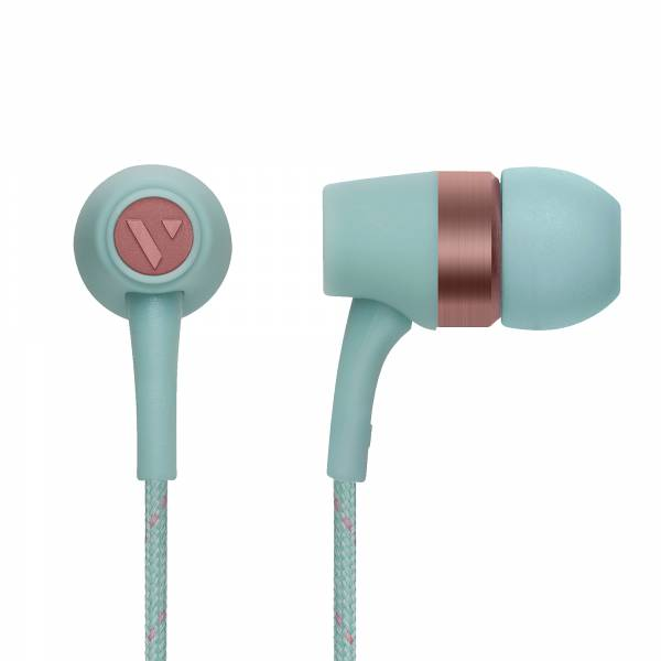 Vain STHLM Original In-Ear Headphones in Frozen Green