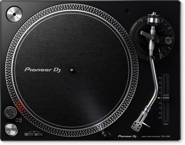 Pioneer PLX 500 Turntable Front View