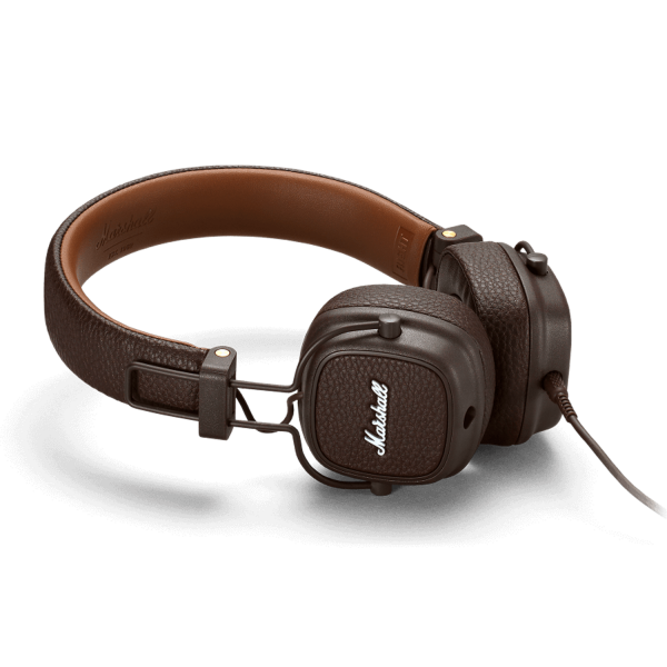 Marshall Major III On-Ear Headphones in Brown