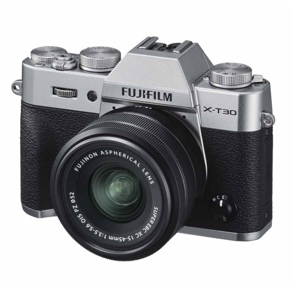 Fujifilm X-T30 Kit in Silver hero image