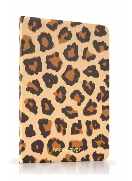 Happy Plugs iPad Mini Leopard Book Case