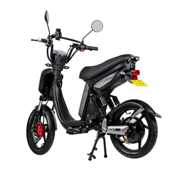 Eskuta SX250 EAPC Electric Bike in Gloss Grey