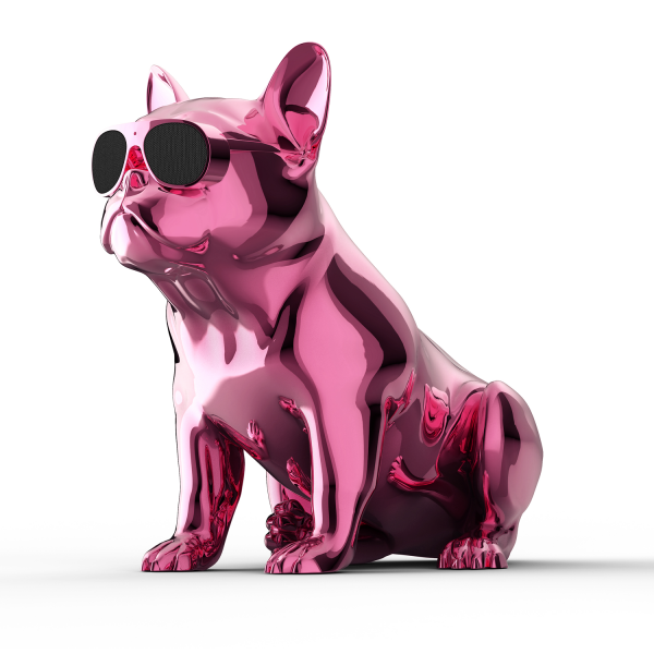 Jarre Aerobull HD1 Wireless Speaker in Chrome Pink