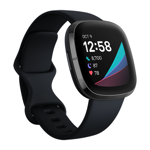 Fitbit Sense, Health and Fitness Watch with Heart Rate Monitor