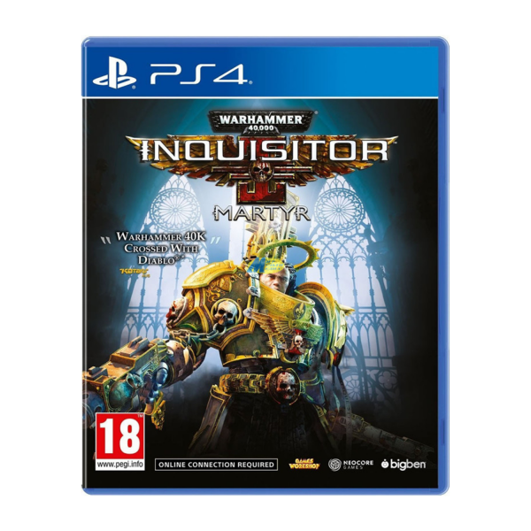 Warhammer 40K Inquisitor Martyr PS4 Game