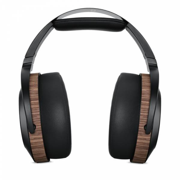 Audeze EL-8 Open-Back Over-Ear Headphone in Black and Brown front view