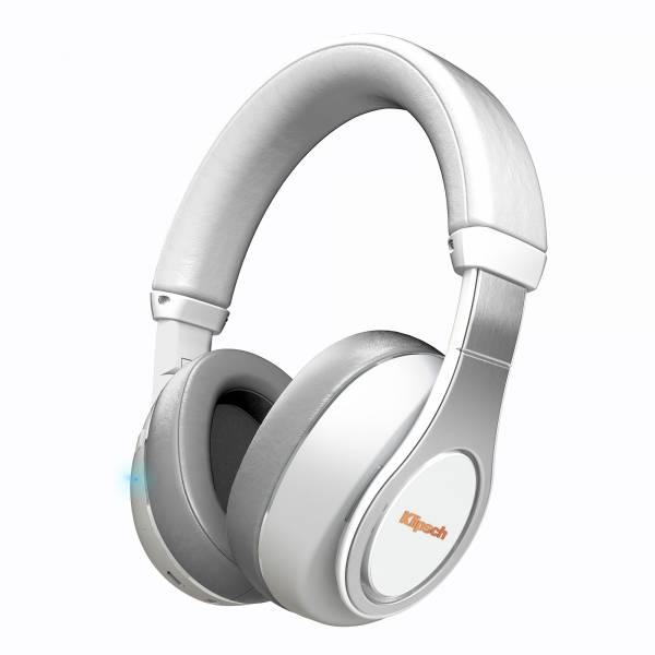 Klipsch Reference Bluetooth Over-Ear Headphones in White front view