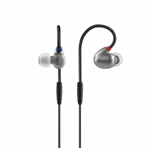 RHA T20i Dual Coil In-Ear Headphones in Silver