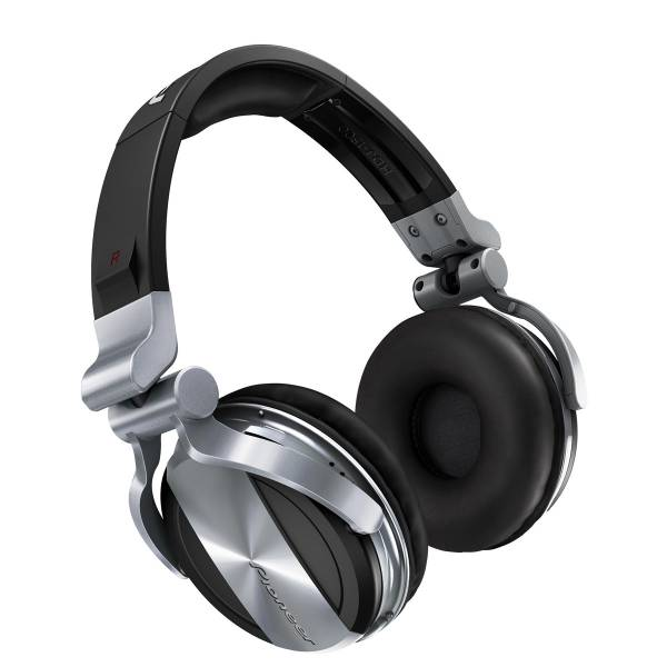Pioneer HDJ-1500 Professional DJ Headphones in Silver