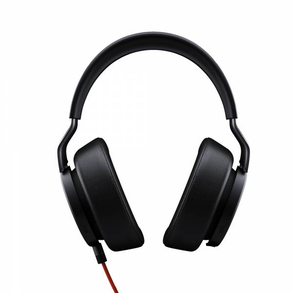 Jabra Vega Over-Ear, Active Noise Cancellation in Black front view