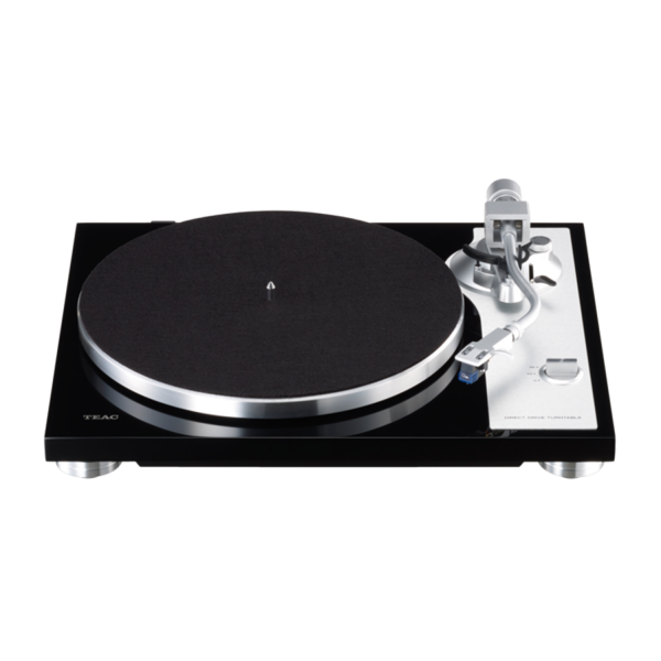 Teac TN-4D Direct-Drive Analog Turntable in Piano Black