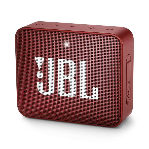 JBL Go 2 Speaker Red Hero Image