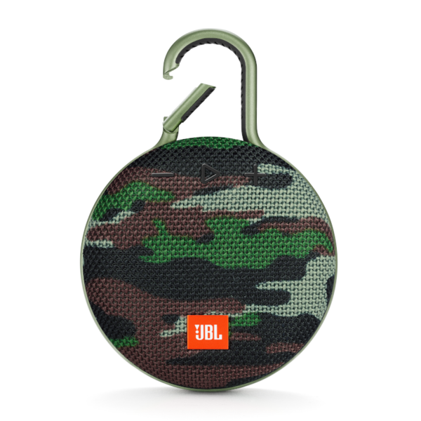 JBL Clip 3 Bluetooth Portable Speaker in Squad