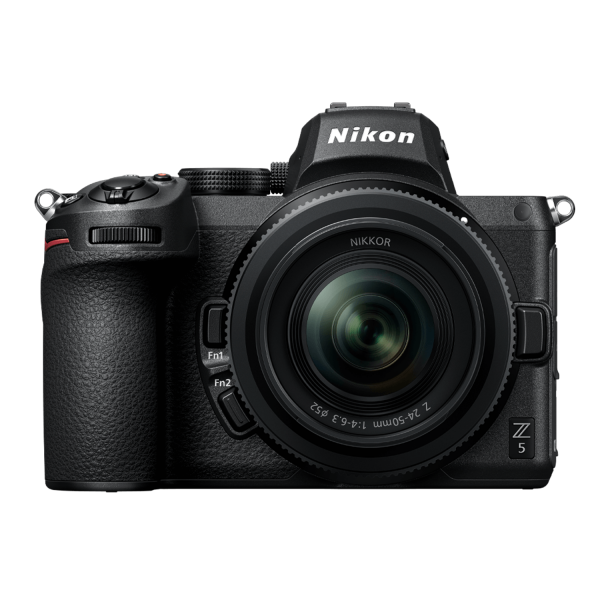 Nikon Z5 Mirrorless Camera with 24-50mm Lens and FTZ Adapter