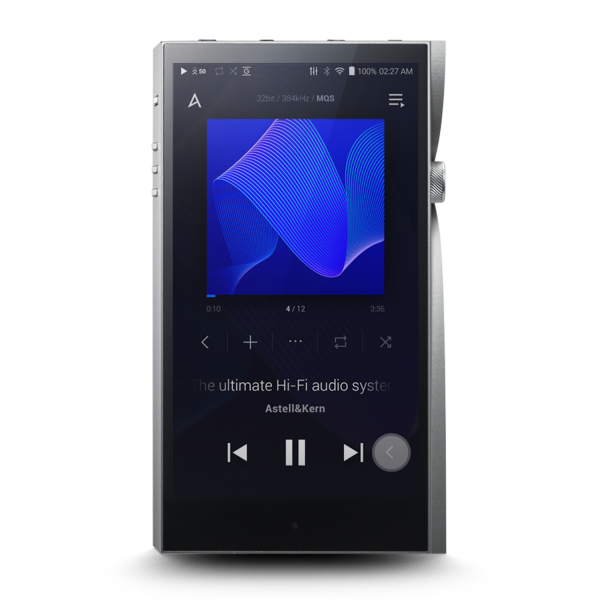 Astell&Kern A&futura SE200 Hi-Res Audio Player in Moon Silver
