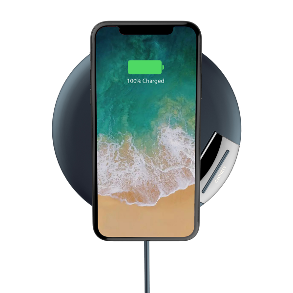 Cygnett Prime Wireless Desk Charger Premium in Navy