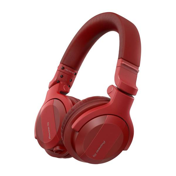 Pioneer HDJ-CUE1BT Bluetooth DJ Headphones in Red