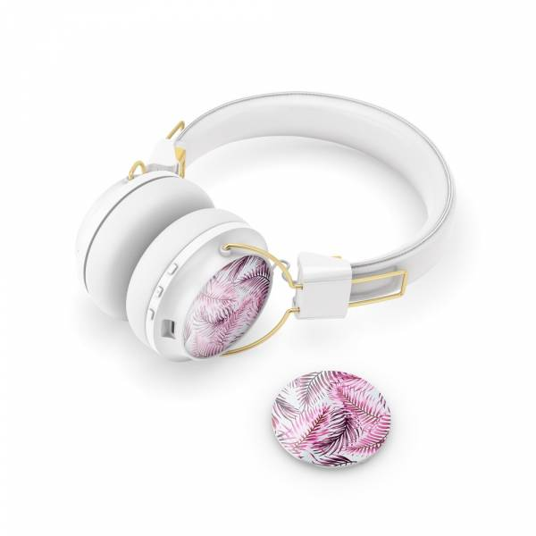 Sudio Regent Headphone Caps in Selva Rossa Pink