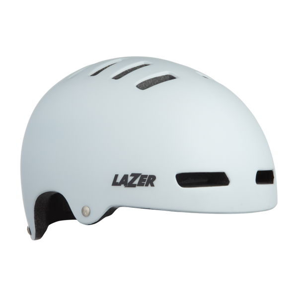 Lazer Armour LED Helmet in Matte White - Medium