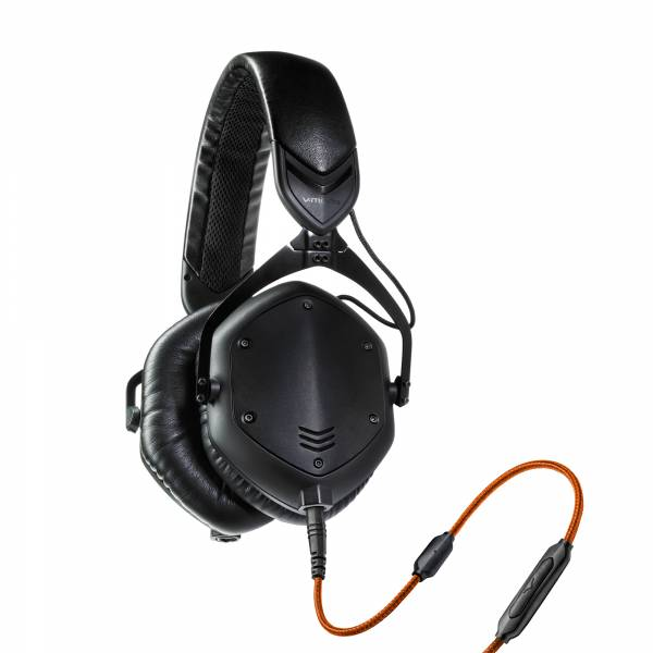 V-MODA Crossfade M-100 Over-Ear in Matte Black left side view