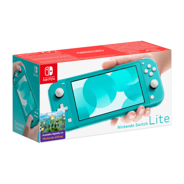 Nintendo Switch Lite Console in Turquoise