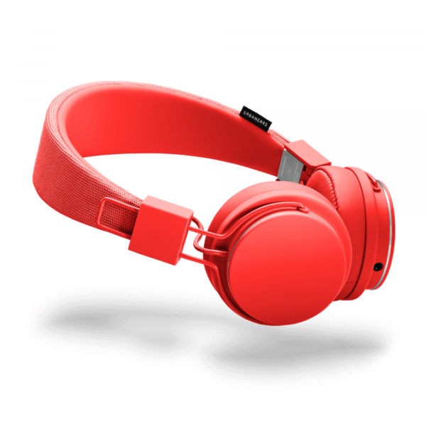 Urbanears Plattan 2 On-Ear Headphones in Tomato