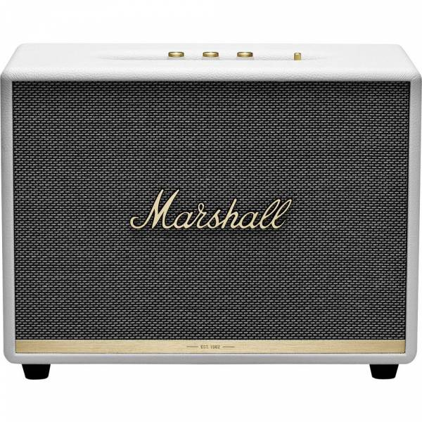Marshall Woburn II Bluetooth Speaker in white front view