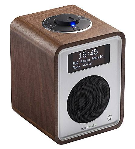 Ruark Audio R1 deluxe tabletop radio in Walnut