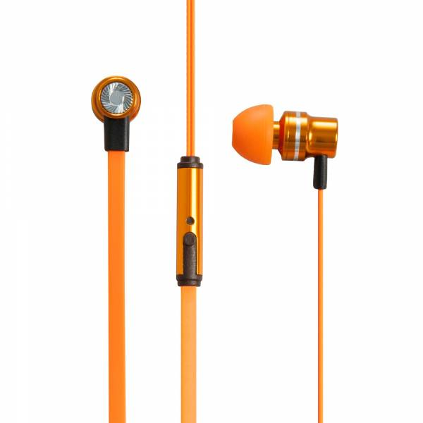 Pump Mixed Wireless In-Ear Headphones in Orange