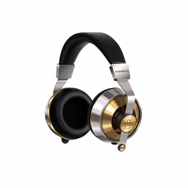 Final SONOROUS X Over-Ear Headphone in Stainless Gold