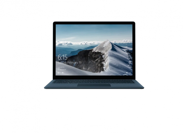 Microsoft Surface Laptop - 512GB cobalt blue front view