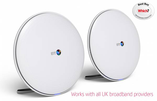 BT Whole Home WiFi System Twin Pack which image