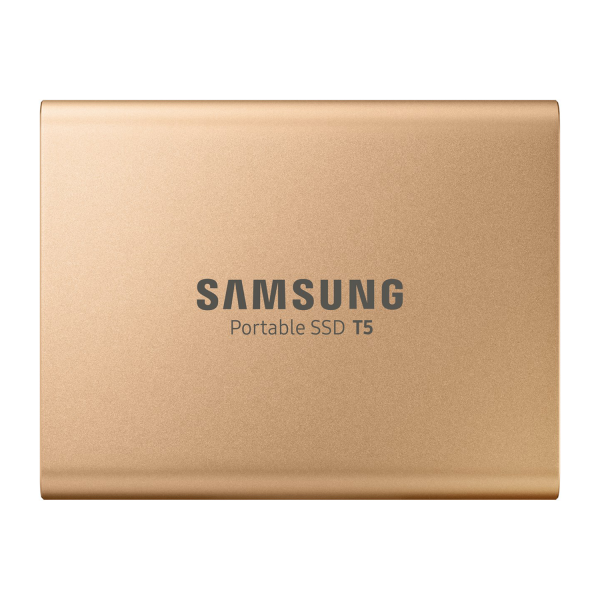 Samsung T5 1TB External SSD in Rose Gold
