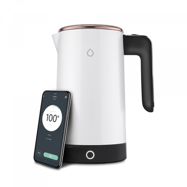 Smarter iKettle 3rd Gen Smart Kettle in Limited Edition White & Gold