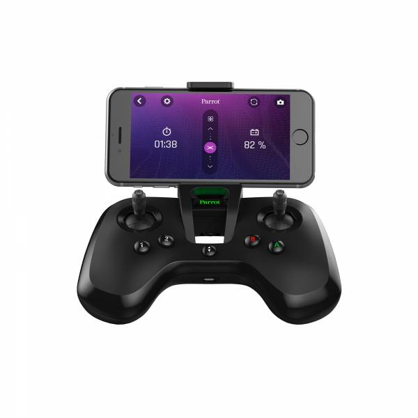 Parrot Flypad with mobile being used