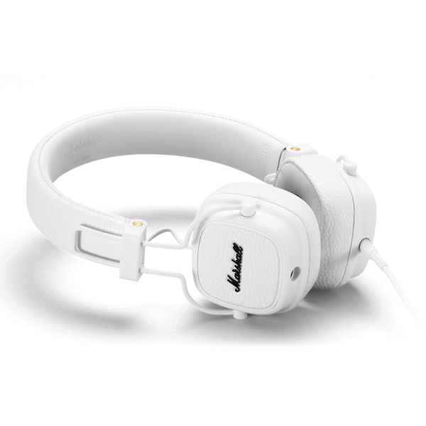 Marshall Major III On-Ear Headphones in White