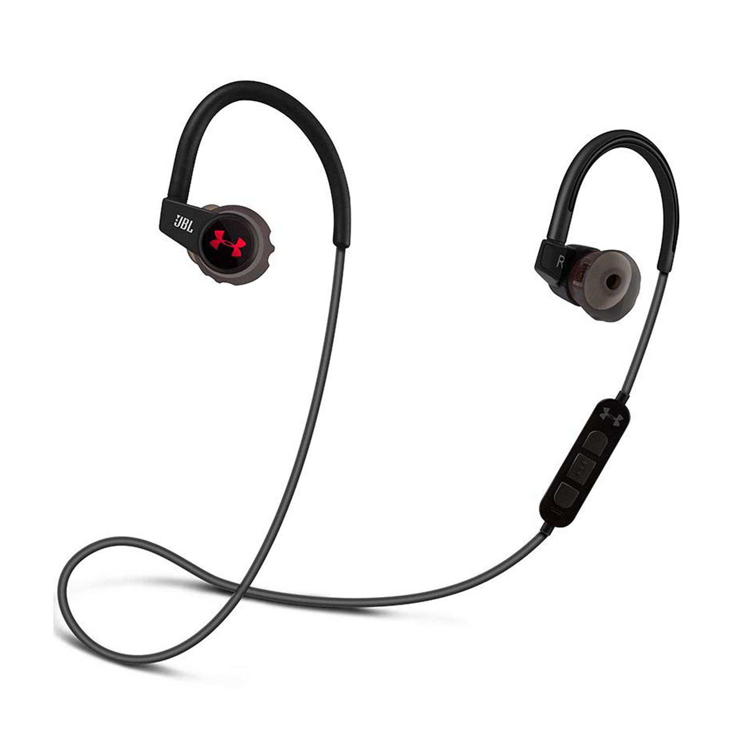 25f15bb05a8 JBL Under Armour Sport Wireless In-Ear Headphones with Heart Rate Monitor  in Black | Tekzone