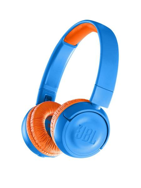 JBL JR300BT Headphones Blue Hero Image
