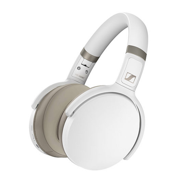 Sennheiser HD 450BT Wireless Headphones in White