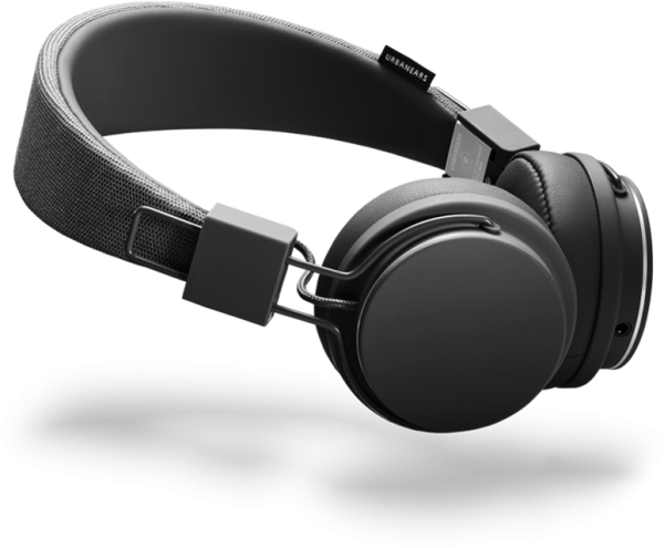 Urbanears Plattan II On-Ear Headphones in Black