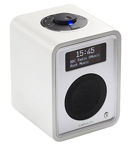 Ruark Audio R1 deluxe tabletop radio in White