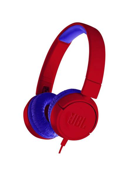 JBL JR300 Headphones Red Hero Image