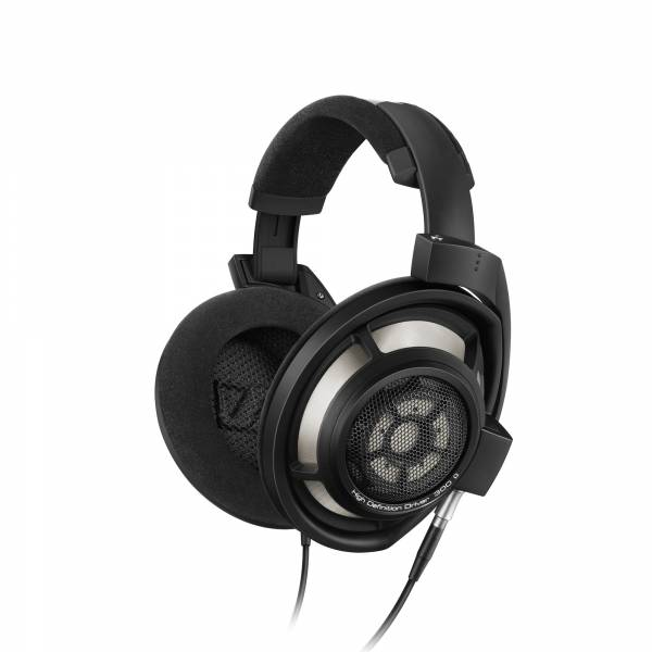 Sennheiser HD 800 S Open Back in Black left side view